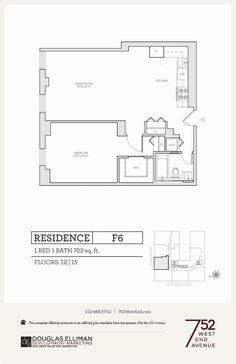 752 West End Avenue Unit 12F Manhattan NY | Douglas Elliman