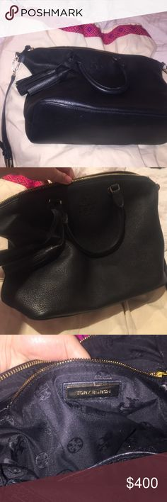 Tory burch Thea medium slouchy satchel Perfect condition, recently bought. Just not the right fit for me. Tory Burch Bags