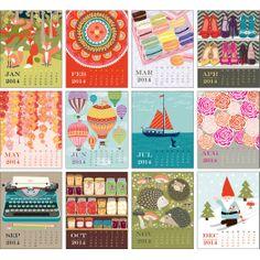 2014 Paper Source Best Of Art Easel Calendar