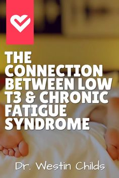 New studies have shown that there is a strong connection between chronic fatigue syndrome and low thyroid function especially low Learn more about why here. Types Of Thyroid, Low Thyroid, Thyroid Symptoms, Thyroid Disease, Thyroid Issues, Adrenal Fatigue Treatment, Chronic Fatigue Causes, Chronic Fatigue Syndrome