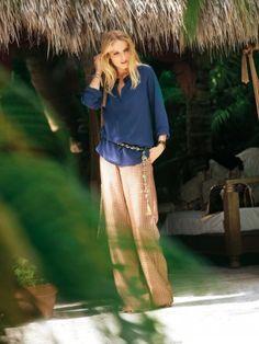 Pajama-Style Trousers sewing pattern   burdastyle.co.uk