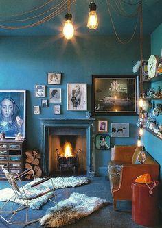 Blue walls.....
