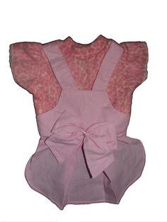 Vestido Rosa Deixe seu pet mais elegante nesse inverno! Vestido em tecido  soft com estampa fa8ebd025d2