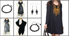♣ Toujours chic en noir, idées cadeaux  https://www.refletsindiens.com/fr/ #Vetements #IdeeCadeau