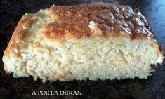 A POR LA DUKAN.: BIZCOCHO DE YOGURT DE LIMÓN Pie Recipes, Healthy Recipes, Light Diet, Dukan Diet, Ketogenic Diet, Sin Gluten, I Foods, Banana Bread, Meal Prep
