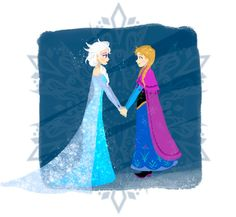 Frozen Sisters - Elsa and Anna