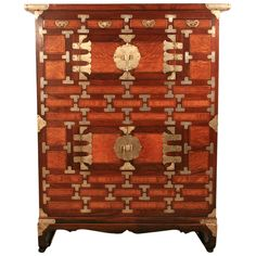 1stdibs - C. 1900 Korean Chosun Period Satinwood Inlaid Personal Clothing Chest/Cabinet explore items from 1,700  global dealers at 1stdibs.com