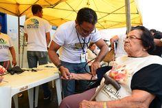 Prefeitura Boa Vista, ação de saúde na Feira do Produtor reforça importância da alimentação no combate à  hipertensão #pmbv #prefituraboavista #boavista #roraima