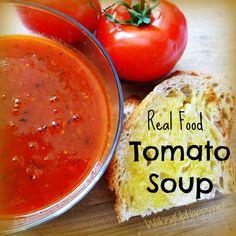 SCD Tomato Soup (*Use SCD legal tomato juice / sauce...)