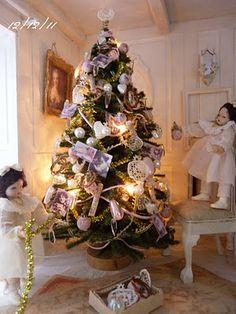 *♥ Atelier de Léa - Un Jour à la Campagne ♥*: Villa des Roses ─ Shabby Xmas by Léa (Atelier de Léa - Paris 20011)