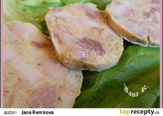 Salám z bůčku recept - TopRecepty.cz Salama, Pork Tenderloin Recipes, Aesthetic Food, Bucky, Fresh Rolls, Pesto, Potato Salad, Recipies, Cooking