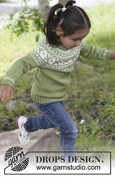 Free Pattern: Starshine Jumper worked top down