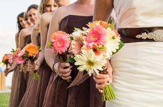 Brown & Coral Seaside Rustic Clearwater Beach Wedding - Ashfall Mixed Media (11)