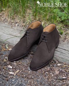 """⚠️ """"You walk into the tall grass. A Wild Carlos Santos Chukka in Dark Brown Suede appears! Wild Chukka uses charm! It's irresistibly effective! Trainer [insert your own name here] uses 309$ USD! Wild Chukka is packed and shipped with DHL Express for Free!"""" . Specifications: • Earth Type (Dark Brown) • High Defense (Dainite Sole) • Self-Healing (Goodyear Welted) • Versatility (Suede) • Beauty Pageant Winner (Fictional Chukka Awards 2020, Category Last 401) . If you get the reference, let me… Brown Suede, Dark Brown, Goodyear Welt, Beauty Pageant, Grass, Trainers, Awards, Dress Shoes, Healing"""
