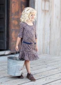 Blu Pony Vintage Linda M. Cedar Swirl Dress    SALE  $ 77.00  $ 61.60