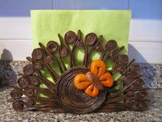 Napkin holders of recycled paper - crazzy crafting