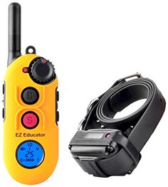 Educator EZ-900 Easy 1/2 Mile E-Collar Remote Dog Training Collar With Vibration, Tapping Sensation and Pavlovian Stimulation * Be sure to check out this awesome product.
