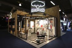 Estúdio Jacarandá Stand at LATAM Retail Show 2016 by Estúdio Jacarandá São Paulo  Brazil