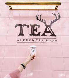 Just another gorgeous picture The French Bedroom Company are loving on Instagram: I got to take a sneak peek of @alfredtea today. It's what my pink '90s dreams are made of. Oh and the tea is yummy too. Opening in LA on May 16. #losangeles #gglocalgems #alfredtea #teayesyoumaybe by taylorsterling