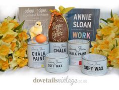 Big Easter Annie Sloan Giveaway - check out our Facebook Page for details smarturl.it/dovetailsFB