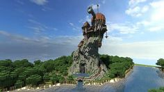 Warhammer Reik River Observatory minecraft build ideas 2