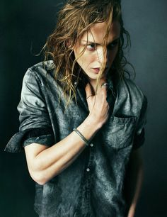 HL, Gaia. Oljigt hår, lite street-rough. Precis som Sigvi vill ha honom, minns honom.