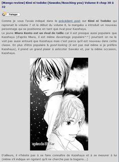 [Manga review] Kimi ni todoke (Sawako/Reaching you) Volume 8 chap 30 à 32 #shojo #shoujo #manga #sawako #reachingyou #kiminitodoke