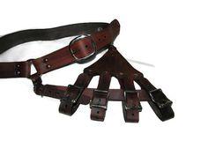 Leather Rapier / Sword Hanger and Belt/ Game of by Dredmorsplunder