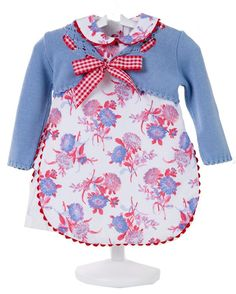 Vestido Pique Estampado - demelocoton.com