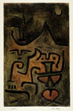 philosophyandthearts: Paul Klee - 'Earth Witches'