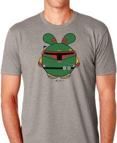 Babee Fett Men's T-shirt by Fat Rabbit Farm