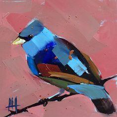 Blue Grosbeak by Angela Moulton