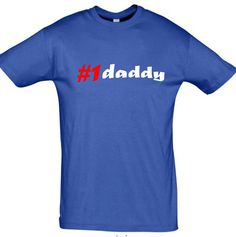 Number one daddymen tshirtgift for dadpersonalized by TeeSDesign