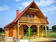 projekt Chatka #dom #projekt #taras