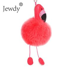 Click visit to buy this product Fur Fashion, Rabbit Fur, Shape Patterns, Fashion Addict, Flamingo, Fashion Accessories, Cute, Crafts, Bags