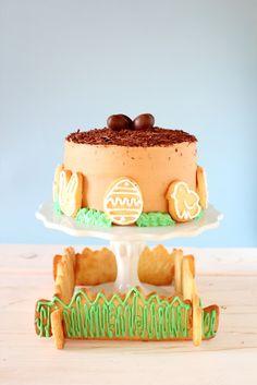 Torta di Pasqua al caffè  Easter coffee cake ^_*