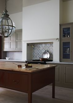 Beautiful bespoke simple kitchen