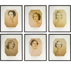 William Acton portraits of the Mitford Sisters