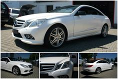 White Mercedes Benz Arbonne