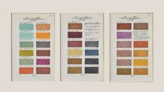 """""""Traité des couleurs"""" Boogert, 1867"""