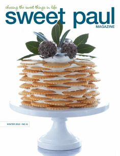 Sweet Paul magazine winter/2012 #craft #design #food #handmade #recipes #free