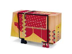 CALAMOBIO-Chest-of-Drawers-Dresser-by-Alessandro-Mendini-Original-Edition-1985-from-STUDIO-ALCHIMIA-