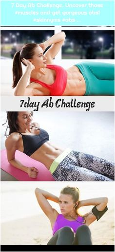 Uncover those and get gorgeous abs! Uncover those and get gorgeous abs! Uncover those and get gorgeous abs! 7 Day Ab Challenge, 7 Day Abs, Skinny Ms, Continue Reading, Muscles, Challenges, Health, Blog, Health Care