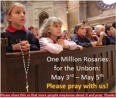 one million rosaries for the unborn