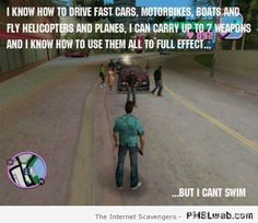 Video game logic  No common sense allowed beyond this point  PMSLweb