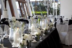 L'Aqua Bridal Table Decorations