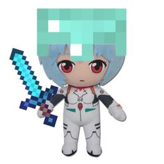 Rei Ayanami, Neon Genesis Evangelion, I Hate My Life, Cursed Images, Jojo's Bizarre Adventure, Reaction Pictures, Plushies, Funny, Cute