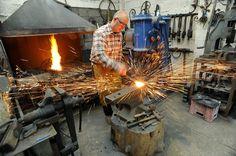 eminent master blacksmith david cooper