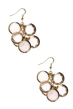 Dressing Your Truth - Type 1 Crystal Cluster Earrings