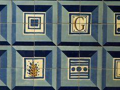 "Lisboa - metro station ""Colégio Militar / Luz"" Portugal, Portuguese Tiles, Project 4, Metro Station, Public Transport, Photo And Video, Inspiration, Lisbon, Nooks"